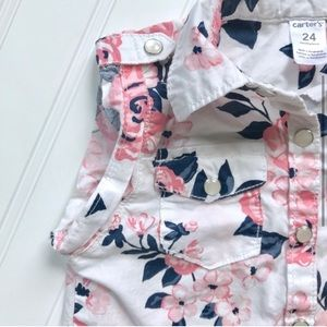 Carter's Shirts & Tops - •Carter's• floral blouse